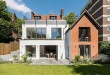 Modern house in UK